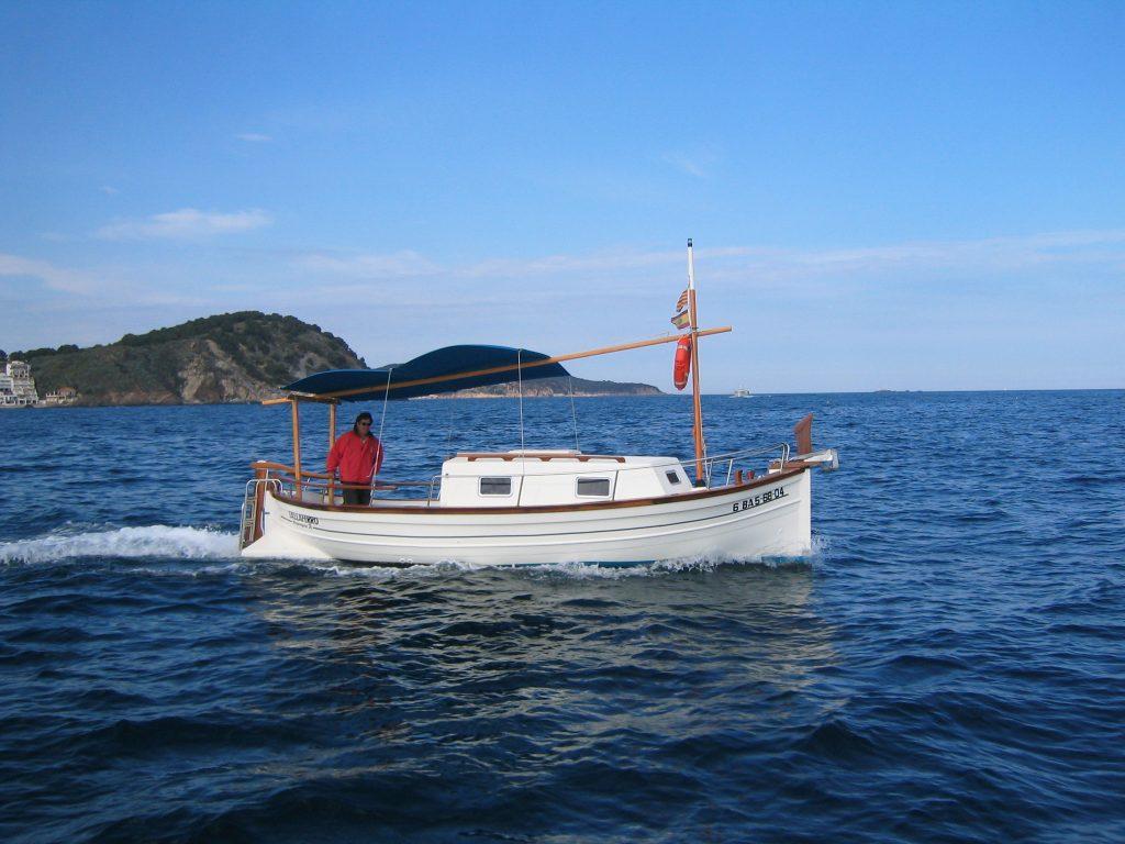 Rent a boat, Palamos, Costa Brava, Aquiler embarcación